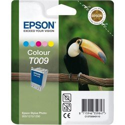Картридж для Epson Stylus Photo 900, 1270, 1290 (Epson C13T00940110 №T009) (цветной)